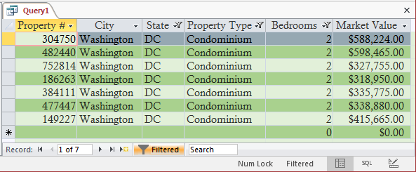 Creating Many Disjunctions When Filtering by Value