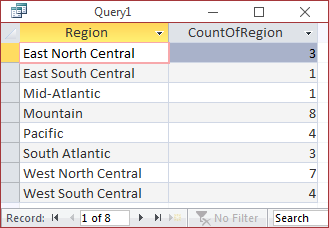 Aggregate Functions - Setting a Condition in a Summary Query